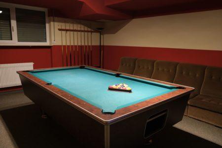 Billard-Zimmer der Christlichen Gemeinde Nürnberg