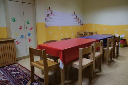 Kinderzimmer der Christlichen Gemeinde Nürnberg