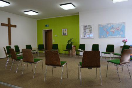 Kleiner Saal der Christlichen Gemeinde Nürnberg