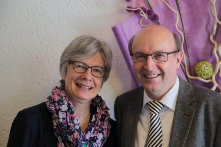 Pastor Karlheinz Kress und seine Frau Elfriede Kress